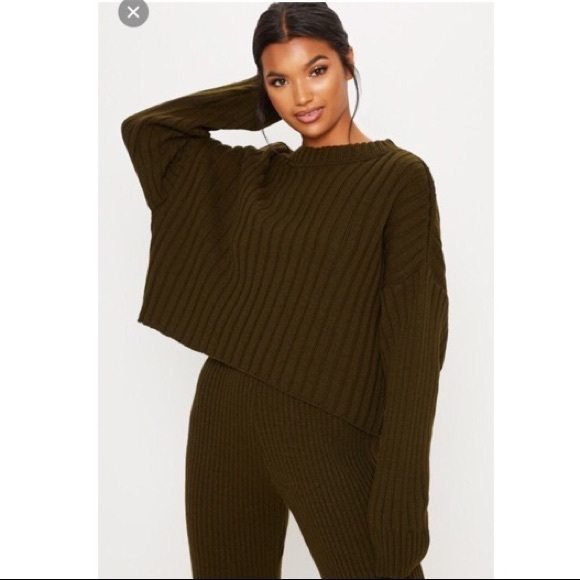 b3fd4dcaeef Oversized Ribbed Knit Sweater